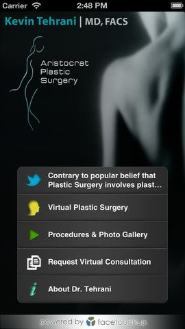 iLipo - New iOS app to simulate Plastic Surgery results