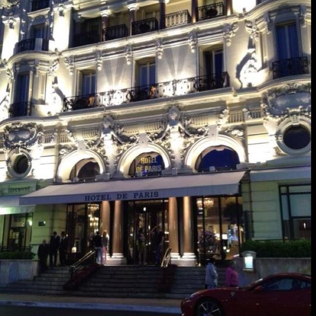 Till next time Hotel de Paris ... or as they say it in French: Jusqu'à la prochaine fois (I think)