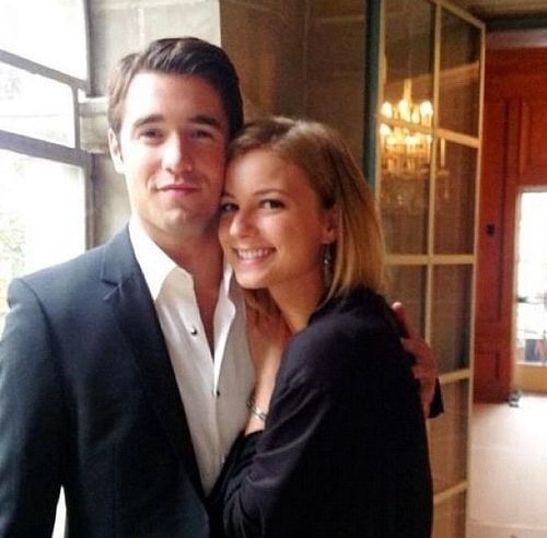 Emily VanCamp is engaged to Revenge costar Josh Bowman