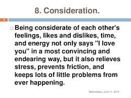 being considerate quotes