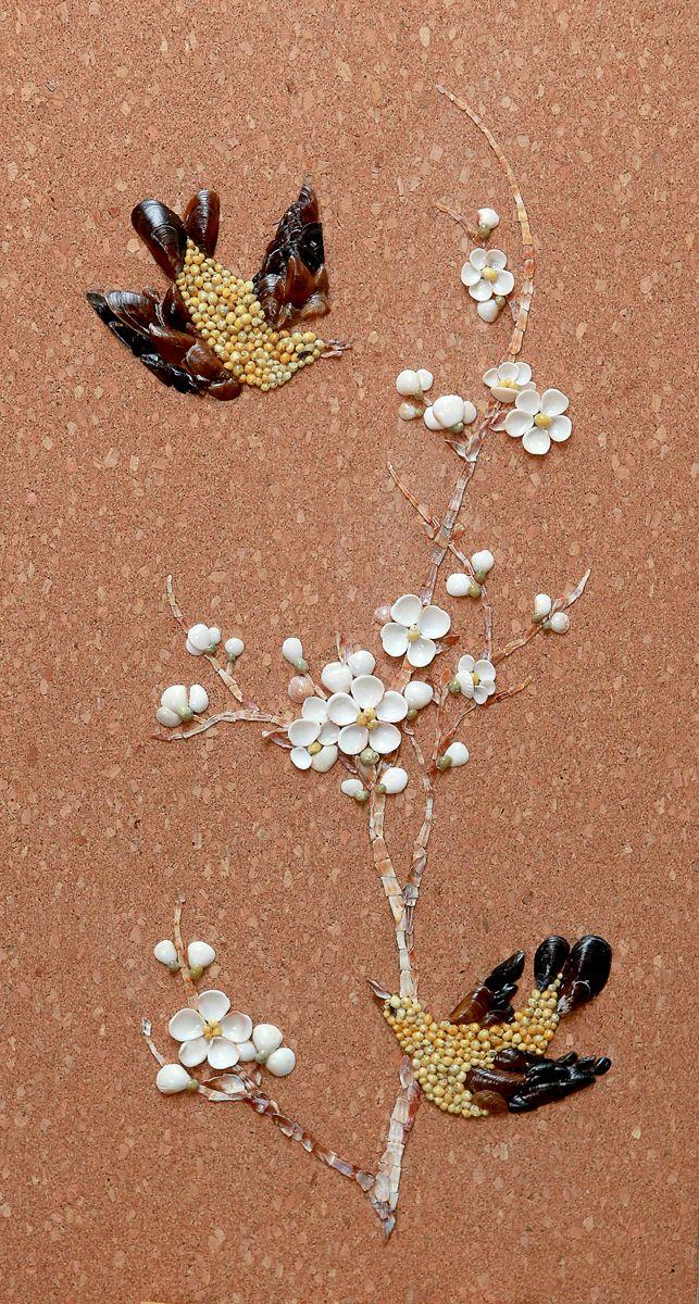 9 best sand shell mosaic art images on pinterest mosaic for Seashell mosaic art