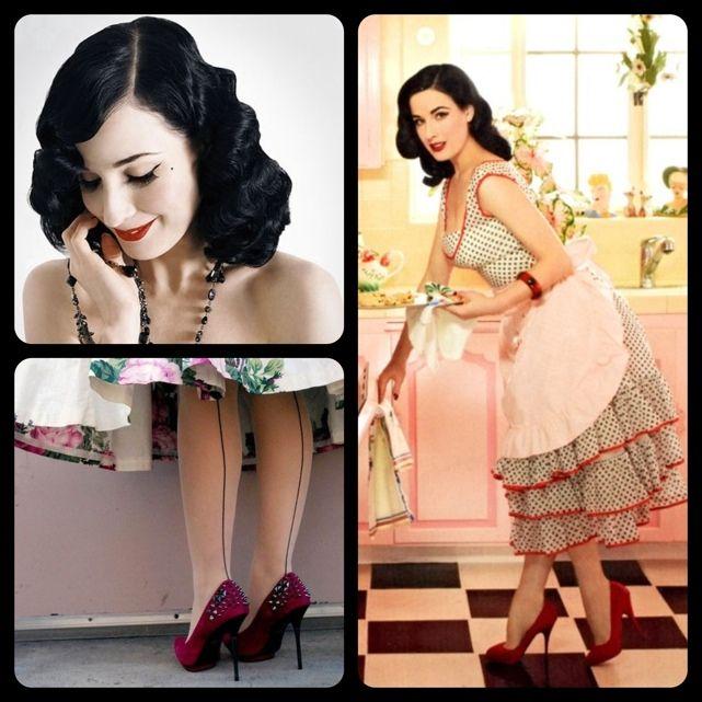 Dita Von TeeseDita Von Teese Photoshoot, Dreams Kitchens, Style Icons, Dita Von Tees Pin Up, Vintagee Pin, Vintage Pins, Dreams Life, Pinup Vintage, Pinup 3
