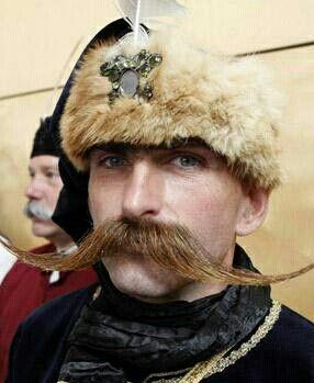hungarian moustache