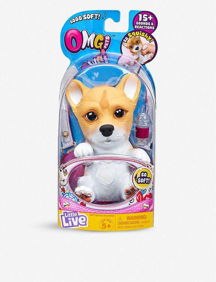 Little Live Pets Omg Interactive Pets Soft Toy Assortment