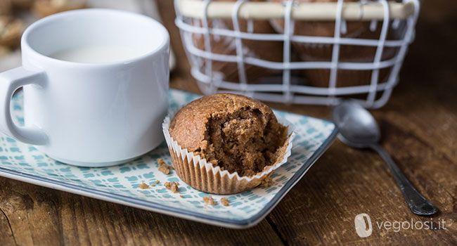 I muffin senza zucchero vegani al limone, noci e datteri sono un dolcetto adatto a tutti, ai più golosi e a chi cerca un gusto nuovo