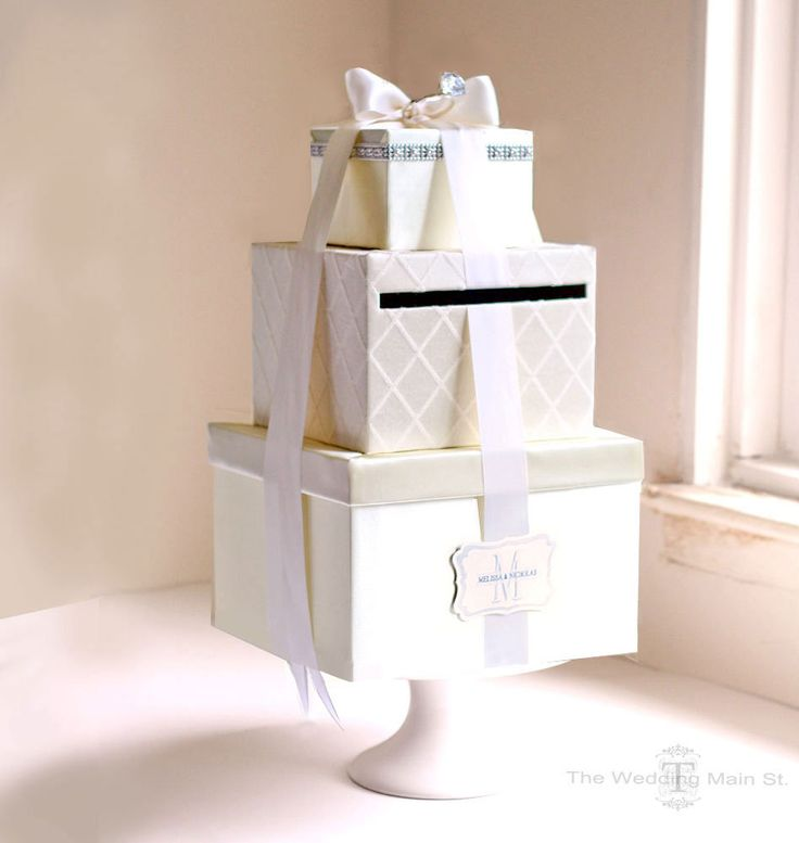 38 best Wedding box for cards images on Pinterest Wedding boxes