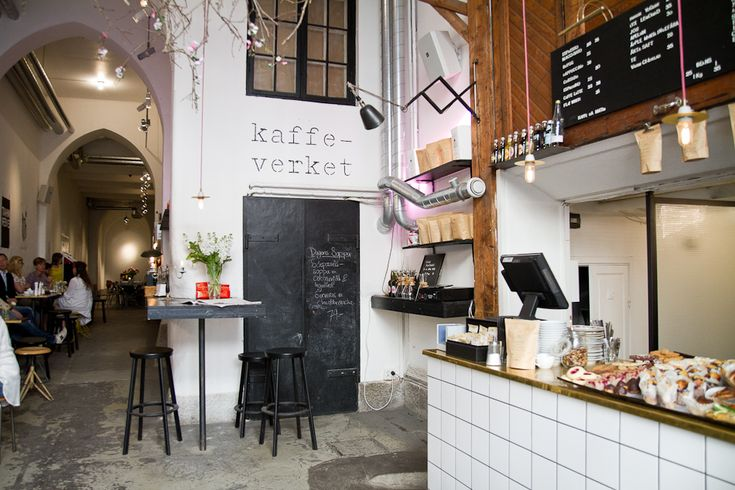 Snickarbacken 7 - former stable turned cafe & gallery space