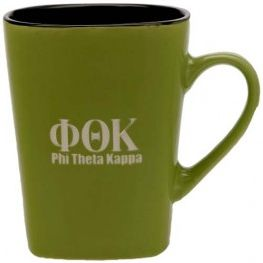 Phi Theta Kappa Honor Society coffee mug.