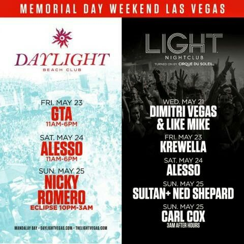 rehab las vegas memorial day weekend 2013