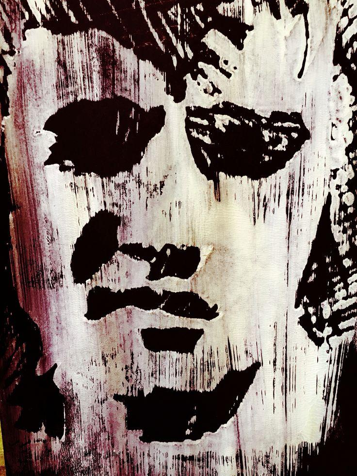 """Elvis """"stencil"""""""
