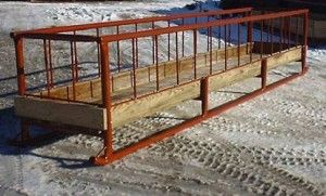 Learn more about our livestock bunk feeders. We have 5 different styles to choose from. Perfect for Horses, Cattle, Sheep and more.