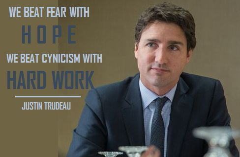 quote from Justin Trudeau