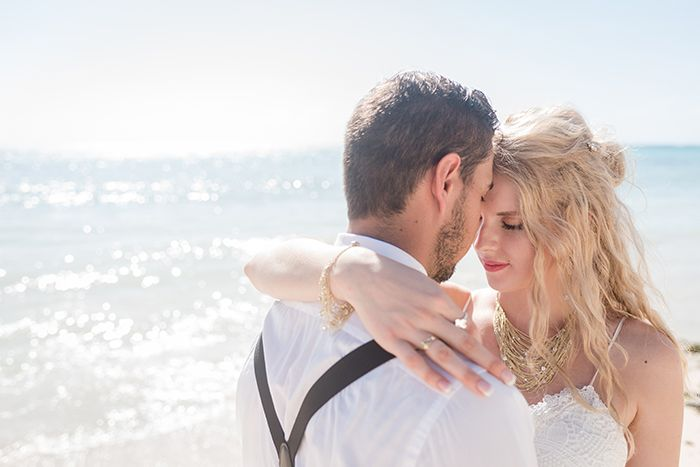 Cancun Wedding Photographer | Such a gorgeous couple they are. I had fun being part of Grace and Jordan's small and intimate wedding in Casa Cavu, Tankah Bay | Mexico luxury destination beach wedding photography | couple portrait
