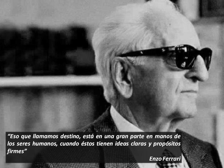 """¡Buen día! Sididom te desea un lunes sumamente productivo con nuestra frase de la semana: """"Eso que llamamos destino, está en una gran parte en manos de los seres humanos, cuando éstos tienen ideas claras y propósitos firmes"""" - Enzo Ferrari -"""