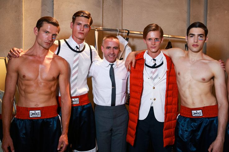 Details from the Moncler Gamme Bleu Show backstage #moncler #gammebleu #ss15 #mfw #milan #fashionweek