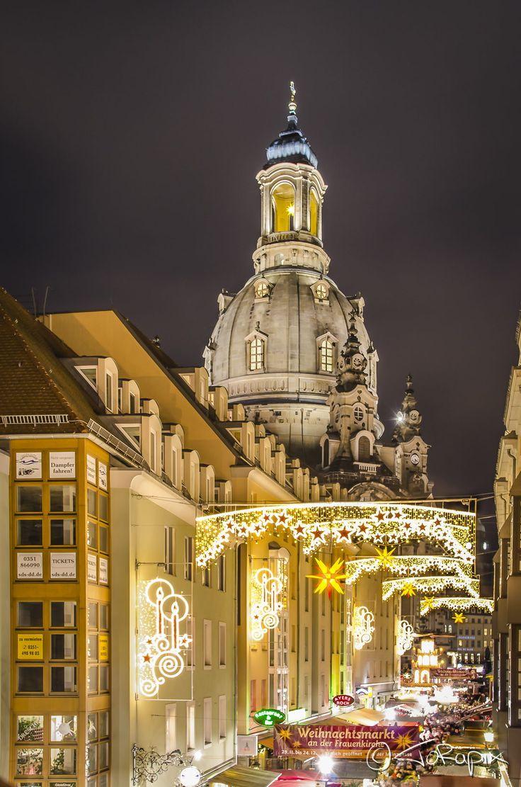 Christmas Market in Dresden, Germany