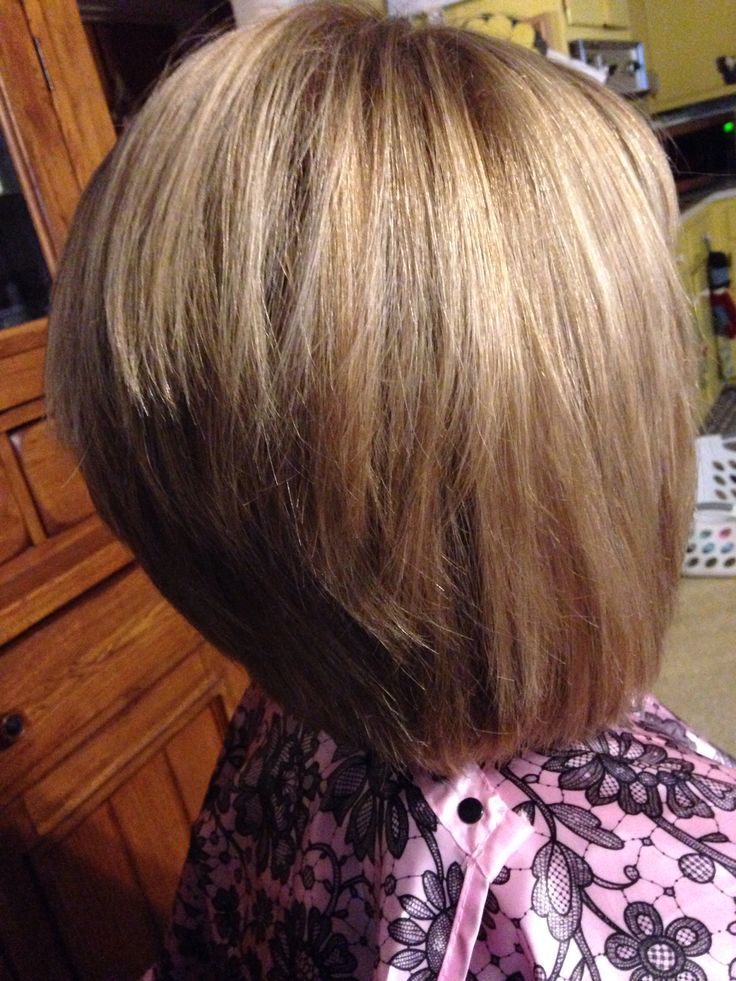 Inverted Stacked Bob | Short Hairstyle 2013