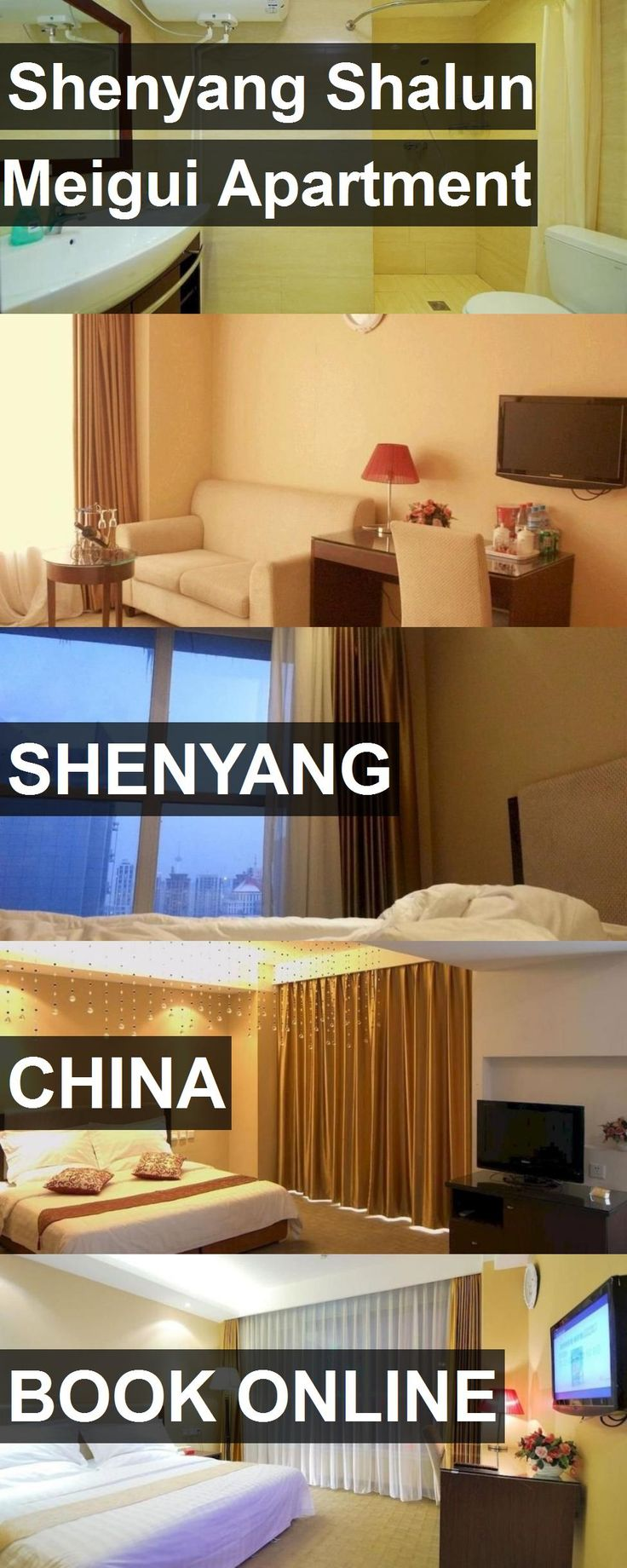 Shenyang Shalun Meigui Apartment in Shenyang, China. For more information, photos, reviews and best prices please follow the link. #China #Shenyang #travel #vacation #apartment