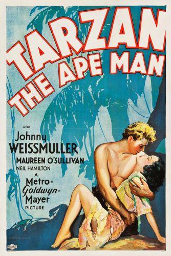 "Movie Posters:Adventure, Tarzan the Ape Man (MGM, 1932). One Sheet (27"" X 41"") Style D.. ..."
