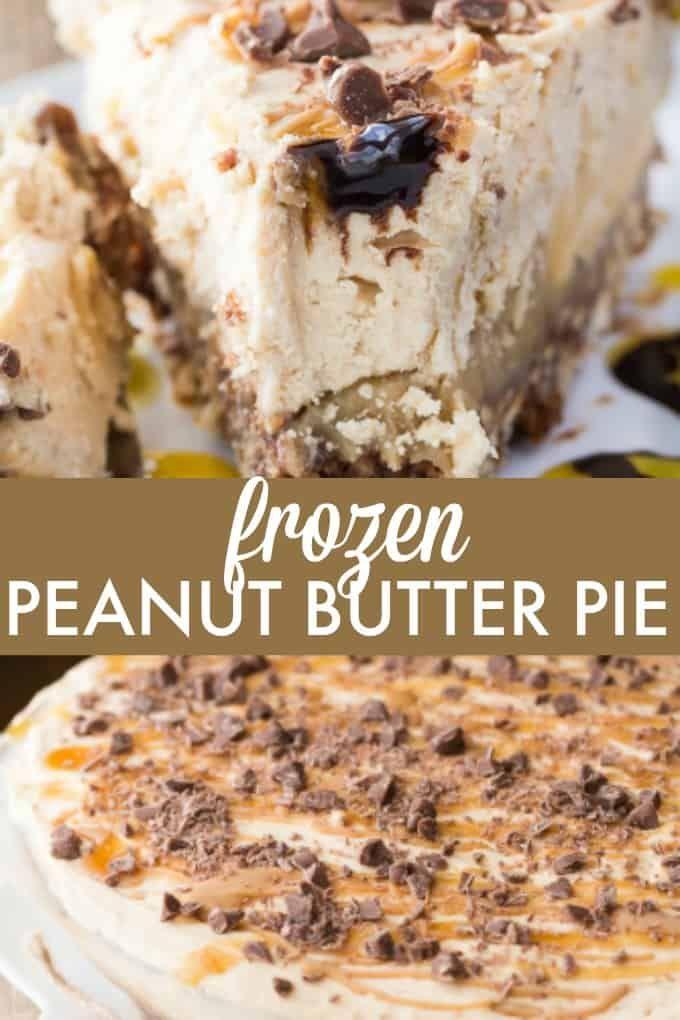 Frozen Peanut Butter Pie Frozen Peanut Butter Pie Recipe Butter