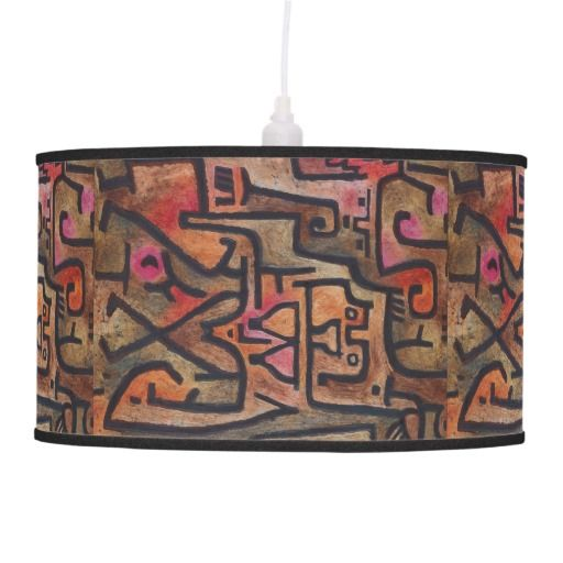 Paul Klee - Forest Witches Ceiling Lamp