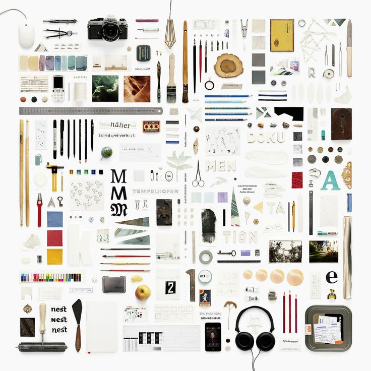 50 amazing examples of deconstructed / knolling photography
