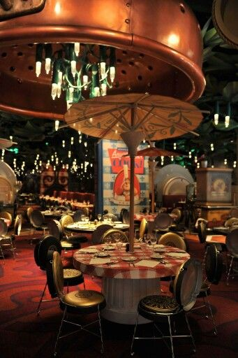 Bistrot Chez Remy | Ratatouille area - Walt Disney Studios Park | Disneyland Paris