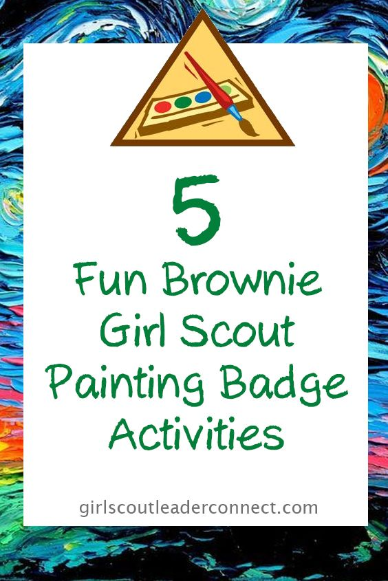 While working on the Brownie Painting badge we added a extra twist to the badge, we wanted the girls to try different ways to paint things. There are so many different types of paint, and mediums to put the paint on. Today I will share with you what we did for this Get inspired Prior …