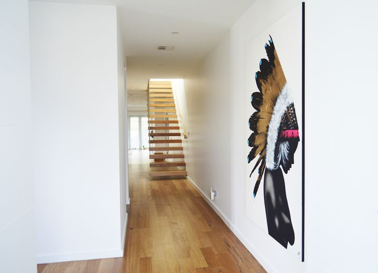 Dulux Paint Colours Interior Part - 32: Inside Our Home ~ Entry And Staircase | Stairs | Pinterest | Staircases,  Wall Colors And Timber Flooring