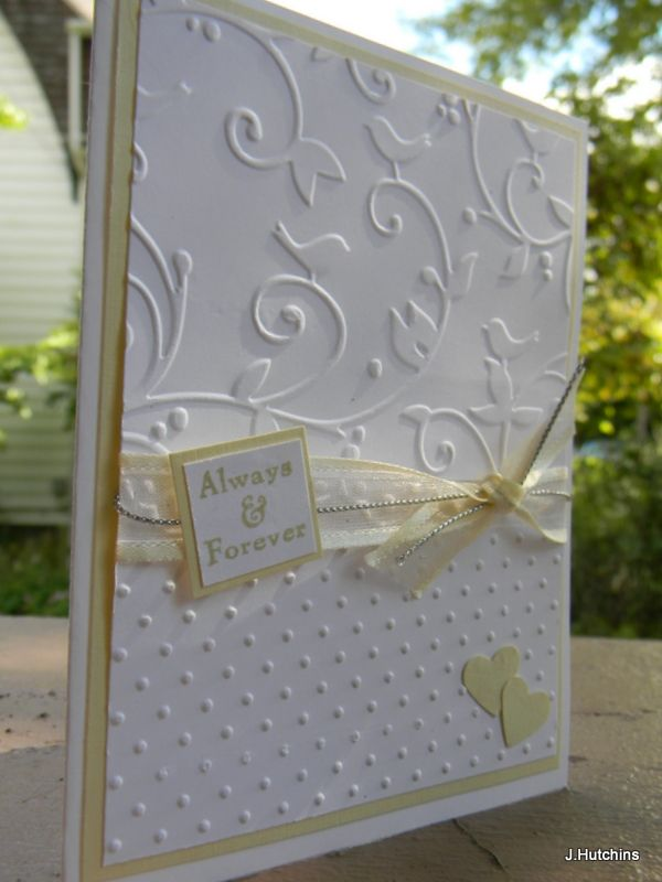 Birds and Swirls & Swiss Dots Cuttlebug embossing folders