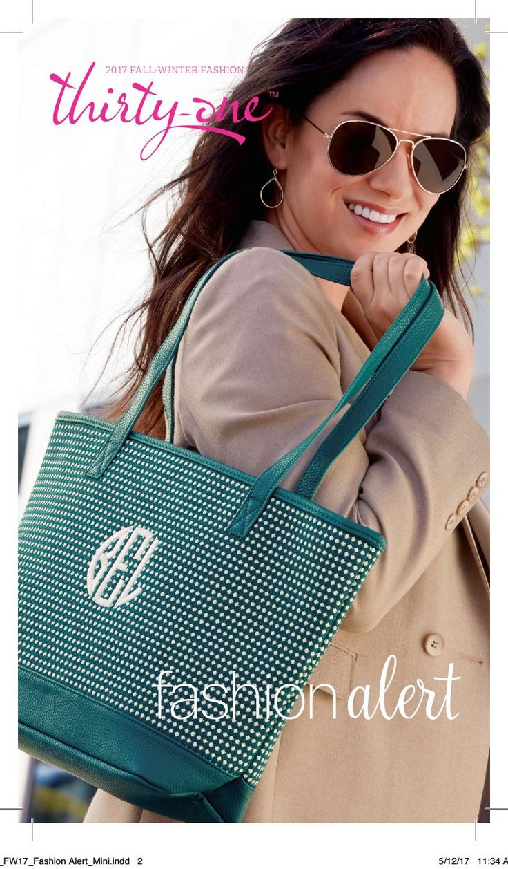 Thirty-One Fall 2017 Fashion Alert Mini Catalog, Thirty-One, Thirty One, www.mythirtyone.com/Bisconti, www.facebook.com/groups/VIP31Bisconti
