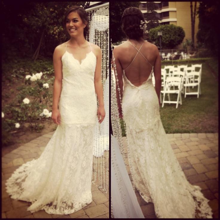 My future wedding dress, of course :)   Tara Lauren Wedding Dress from Marry Me Bridal