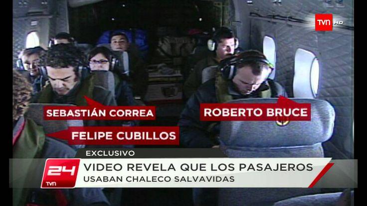 TVN exhibió ultimas imágenes de avión FACh antes de accidente en Juan Fe...