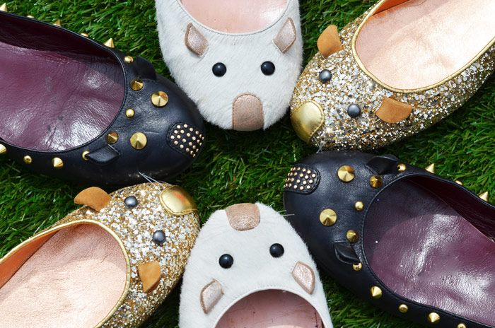 Mouse flats by Marc By Marc Jacobs