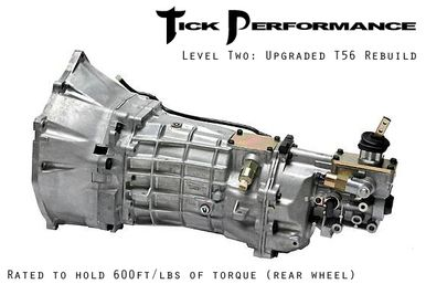 Tick Performance Level 2 Upgraded T56 Rebuild (600RWTQ) for 04-06 Pontiac GTO