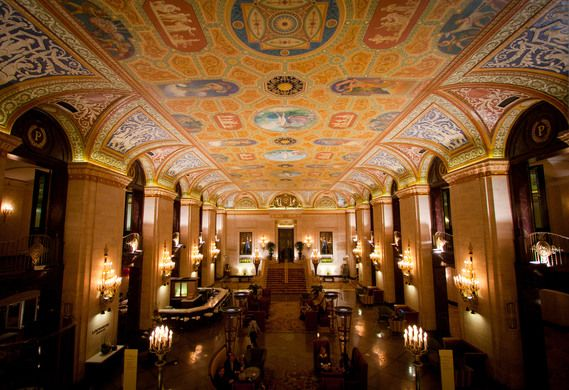 Palmer House Hilton – Chicago, Illinois - Atlas Obscura