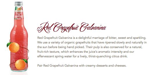 Red Grapefruit Galvanina #Galvanina