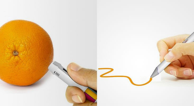 (via 16 million color pen can match its ink to the shade of any real world object | Springwise)