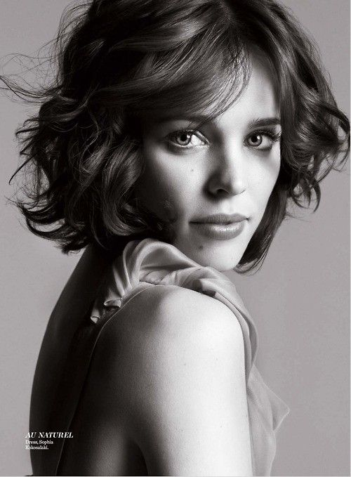 rachael mcadam. in love with the messy bob. might have to try that on.Short Hair, Haircuts, Girls Crushes, Shorts Hair, Beautiful, Hair Cut, Hair Style, People, Rachel Mcadams