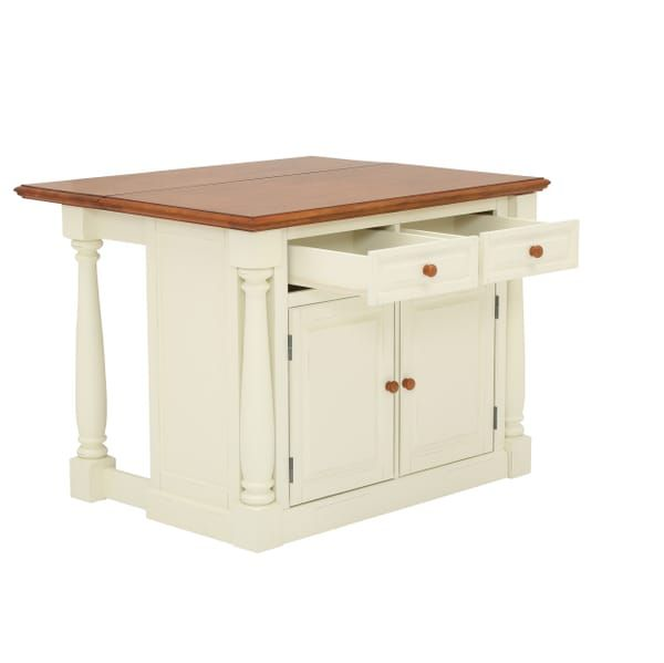 Homestyles Monarch White Kitchen Island With Drop Leaf 5020 94 The Home Depot Kitchen Designs Layout Free Woodworking Plans Furniture White Kitchen Island