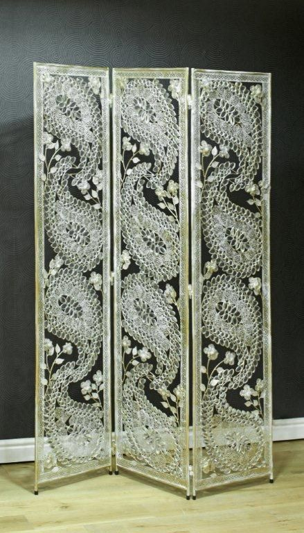 Silver Paisley Metal Novelty Room Divider For The Home   19252 Browse Our  Range Of Contemporary Room Dividers At Excellent Prices! The Perfect  Addition To.