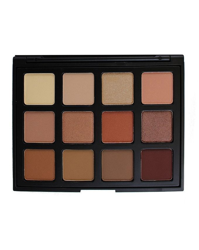 12 Colour Natural Beauty Palette (12NB) by Morphe Brushes