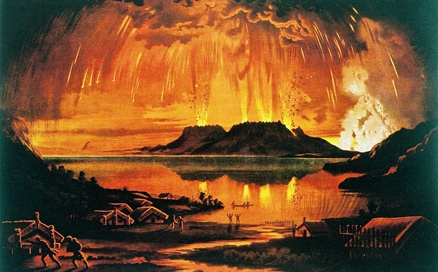 One of the best places to experience the story of the Tarawera Eruption in 1886 is the Buried Village at Te Wairoa. Visit the 2nd floor at the Rotorua Library to read about the eruption.