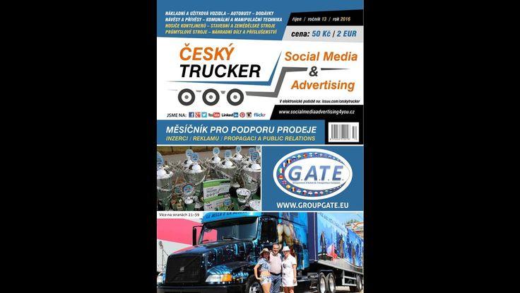 časopis Český Trucker - řijen 2016