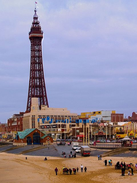 Blackpool Tower by Lloyd K. Barnes Photography, via Flickr