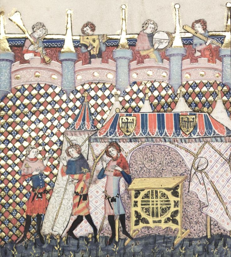 Bodleian Library MS. Bodl. 264, The Romance of Alexander in French verse, 1338-44; 142v