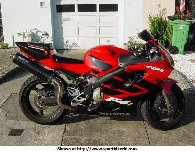 2001 CBR 600 F4i