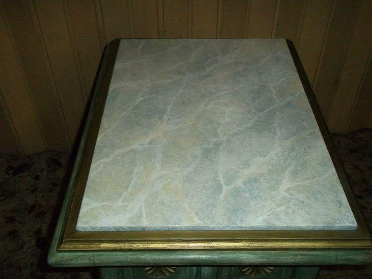 Piano in finto marmo