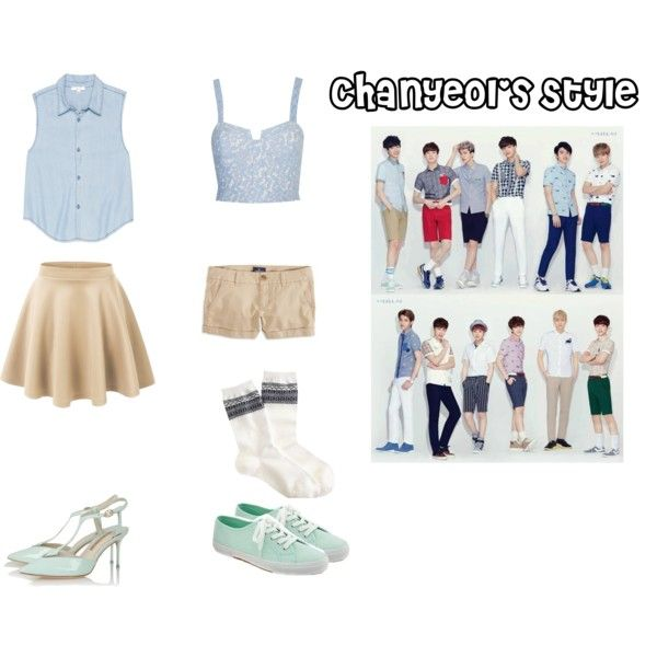 EXO Ivy Club Chanyeol Inspired Outfit