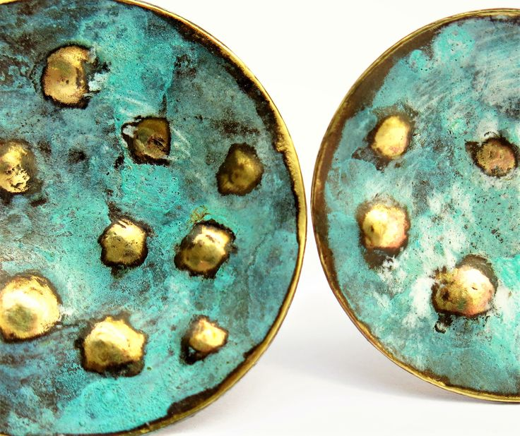 Silver Brass with green patina. New season spring 2016 Andrea Osses